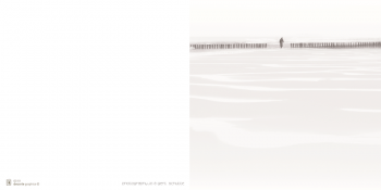 Image mortuaire balade sur la plage