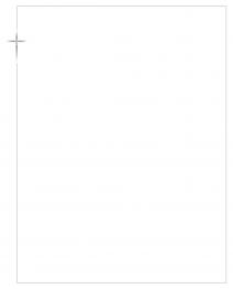Rouwbrief dubbel kruis met fijne kader