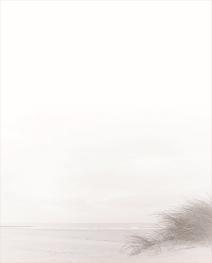 Rouwbrief dubbel duinengras