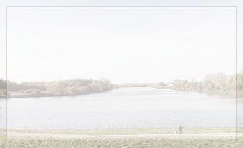 Carte simple paysage rivière