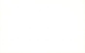 Bedankingskaart blanco ecru