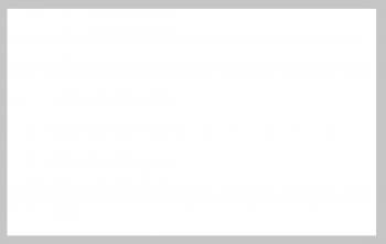 Carte de remerciement blanco bord gris
