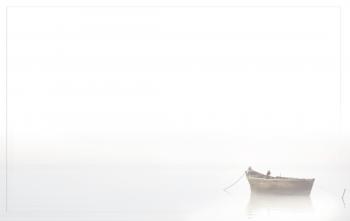 Carte de remerciement bateau