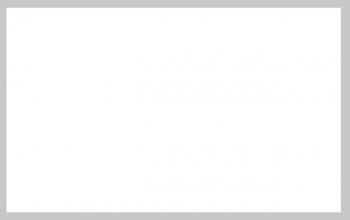 Carte de remerciement bord gris